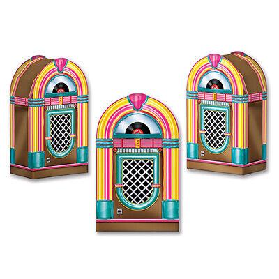 1950s Party Favors (Classic 1950's Decade Party FABULOUS 50'S JUKEBOX FAVOR BOXES /)
