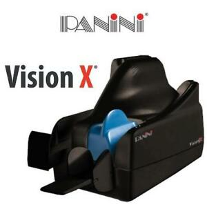 NEW PANINI VISION X CHEQUE SCANNER VX75.1.FF.IJ 211231574 BANKING CHECK CAPTURE EQUIPMENT Docs Per Minute 100 Feed Wi...