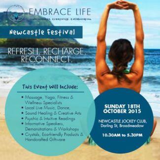 EMBRACE LIFE NEWCASTLE FESTIVAL Wallsend Newcastle Area Preview