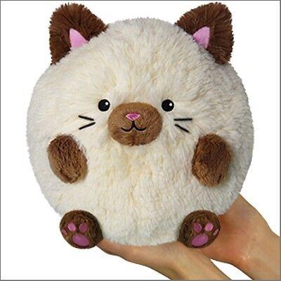 """Squishable / Mini Siamese Cat Plush – 7"""""""