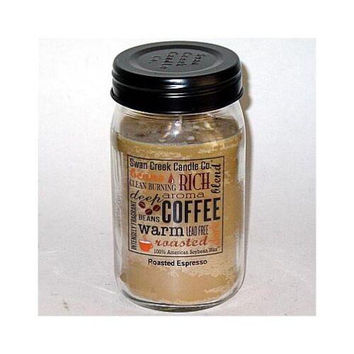 Swan Creek 100% Soy 24 Oz. Jar Candle - Roasted Espresso