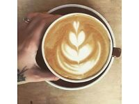 Artisan coffee shop manager position