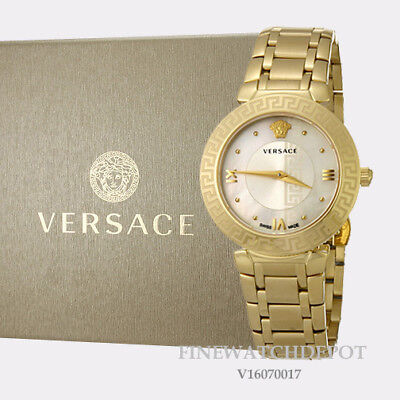 Authentic Women's Versace Daphnis Stainless Steel Watch V16070017