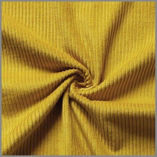 0,50 Meter Bekleidungsstoff Cord diagonal  uni farbig Stoff