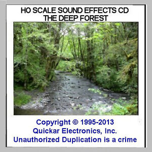 Details about sounds of the forest sound effects cd for ho scale model