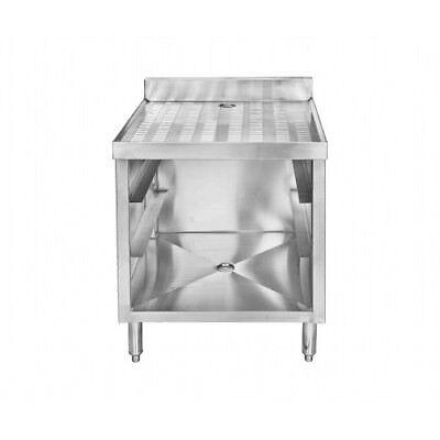 3 Rack Stainless Steel Glass Rack Storage Cabinet