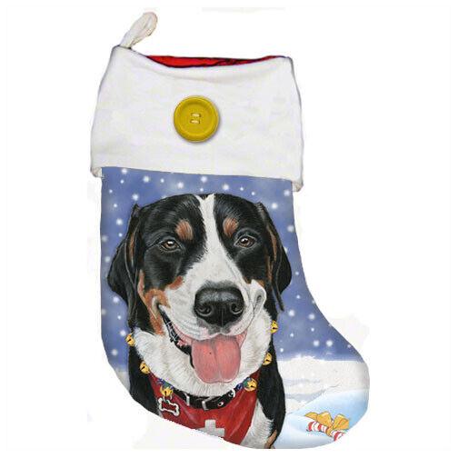 Greater Swiss Mountain Dog Christmas Stocking