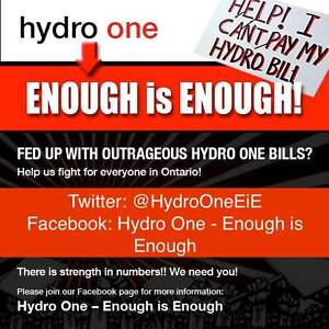 FREE - ARE U FED UP WITH OUTRAGEOUS HYDRO BILLS- PLEASE JOIN US