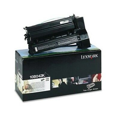 C750 Toner Schwarz (Lexmark Toner 10B042K schwarz  black Hohe Kapazität 15000 Seiten C750 X750 - OVP)