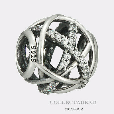 Authentic Pandora Sterling Silver Galaxy Bead 791388CZ *SPECIAL*