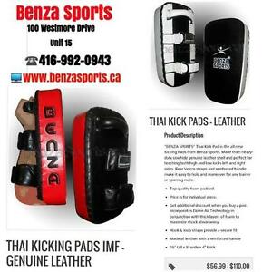 THAI PADS / BOXING KICKING PAD / MMA KICKING SHIELDS / PUNCHING PADS ON SALE
