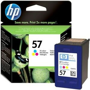 ORIGINAL-SEALED-HP57-C6657A-COLOUR-INK-CARTRIDGE-SWIFTLY-POSTED