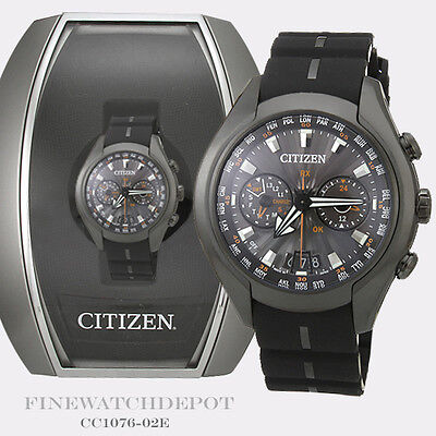 Authentic Citizen Eco-Drive Men's Satellite Wave-Air Titanium Watch CC1076-02E