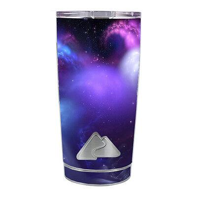 18 Ounce Purple Vinyl (Skin Decal for Ozark Trail 20 oz Tumbler Cup (5-piece kit) / space gasses purpl )
