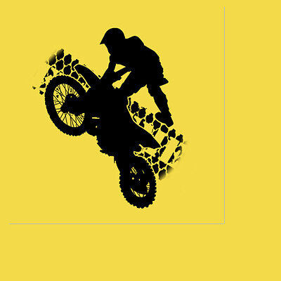 Extreme Sports Party Supplies MOTO CROSS MOTORCYCLE LUNCHEON DINNER NAPKINS - Motocross Party Supplies