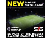 NEW 6ASIDE LEAGUE