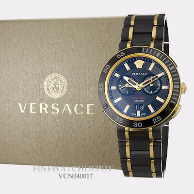 Authentic Men's Versace V-Extreme Pro Stainless Steel Watch VCN040017