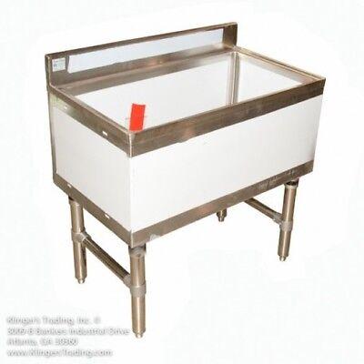 18 X 24 Stainless Steel Ice Chest Bin