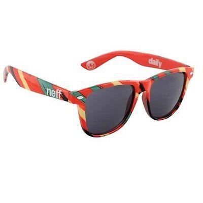 Neff Rasta Daily Adventurer Traveler Sunglasses Shades