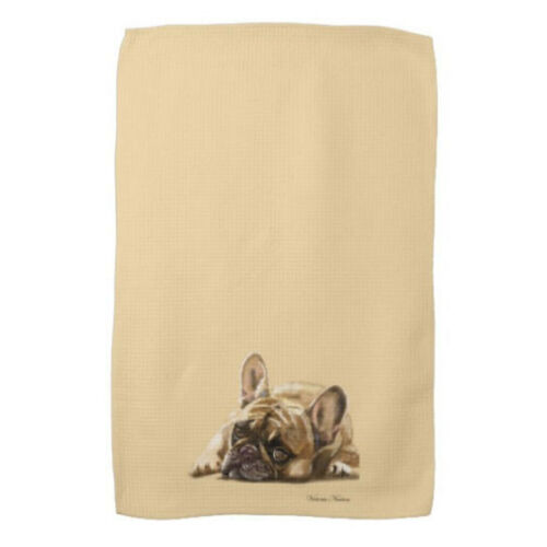Kitchen/Tea Towel - French Bulldog-Personalize for Free!