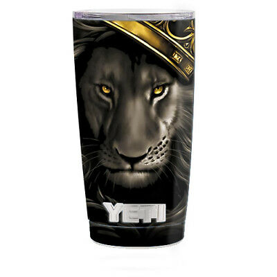 Home Decor Contemporary Style Skin Decal For Yeti 20 Oz Rambler Tumbler Cup / The King Of The Jungle Home Decor Room Decor Self Adhesive Wallpaper