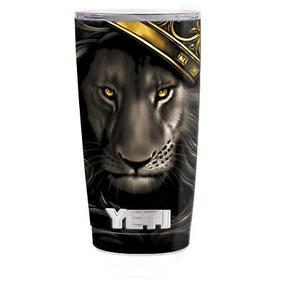 Home Decor Contemporary Style Skin Decal For Yeti 20 Oz Rambler Tumbler Cup / The King Of The Jungle Mission Home Decor