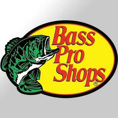 Bass Pro Shops Vinyl Decal Sticker Fishing Boat Tackle Box Truck Car Tackle Bass Fishing Boat