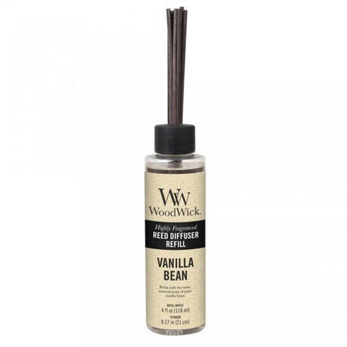 VANILLA BEAN WoodWick 4 oz Refill for Reed or Spill Proof Di