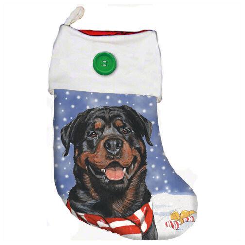 Rottweiler Christmas Stocking