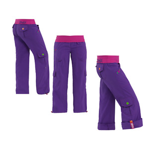 Zumba Highlighter Cargo Pants size Large - Purple
