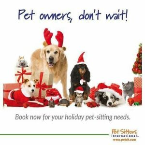 Holiday Pet Care Available