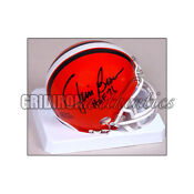 Cleveland Browns Signed Mini Helmet