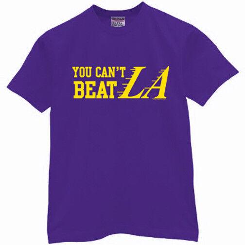 e683540eb3db LA Lakers T-shirt YOU CAN T BEAT LA shirt lebron james jersey funny. Top  Seller