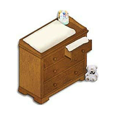 Baby Nursery Changing Dresser / Table Furniture Woodworking Plans on Paper