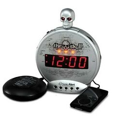 Sonic Alert Sonic Boom SBS500BC The Skull Vibrating Alarm Clock