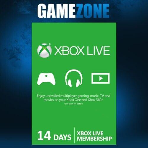 Xbox LIVE 14 Days Trial Gold Membership For Microsoft Xbox One / Xbox 360 2 Week