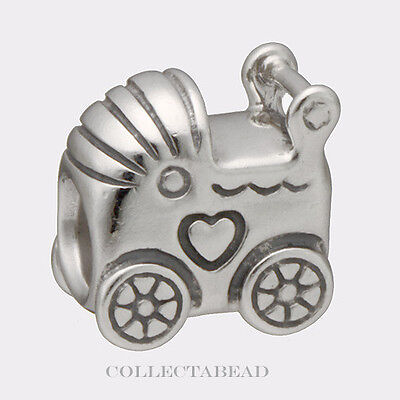 Authentic Pandora Sterling Silver Baby Carriage Bead 790346 50% OFF CLEARANCE!