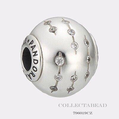 Authentic Pandora Essence Collection Sterling Silver Trust Bead 796019Cz