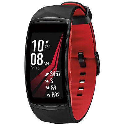 Samsung Cog Fit2 Pro Fitness Smartwatch - Red, Large