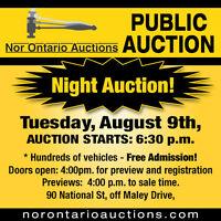 Public Auction Sudbury