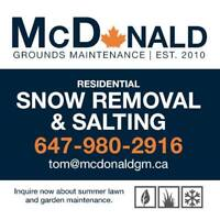 Residential/Commercial snow removal