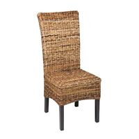 Set of 4 - RIO Banana Leaf Dining Chairs