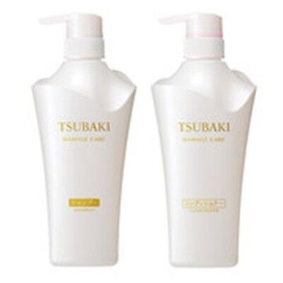 SHISEIDO TSUBAKI Damage Care Shampoo and Conditioner.500ml.Free shipping