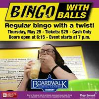 What to do in Sudbury? Bingo with Balls Contest