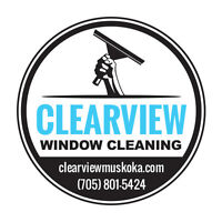 Professional Window Cleaning in Muskoka and Surrounding Areas