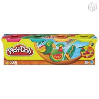 Play-Doh Hasbro Lot de 4 pots de pâte à modeler