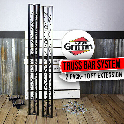 GRIFFIN - Triangle Truss Light Kit DJ Booth Trussing Stage C Clamp Mounts System