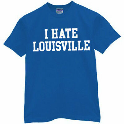 Kentucky Wildcats T-shirt I HATE LOUISVILLE football basketball jersey XL