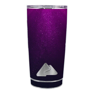 Southern Style Home Decor Skin Decal For Ozark Trail 20 Oz Tumbler Cup (5-piece Kit) / Purple Dust Home Decor Driftwood