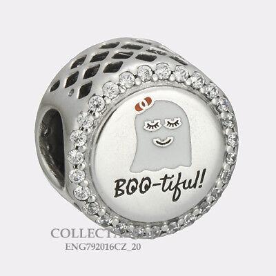 Authentic Pandora Silver BOO-Tiful! Enamel CZ Halloween Bead ENG792016CZ_20